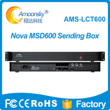 цена Amoonsky AMS-LCT600 Support MSD600 Sending Card Outer LED Display Sending Controller Box similar mctrl600 sender box онлайн в 2017 году