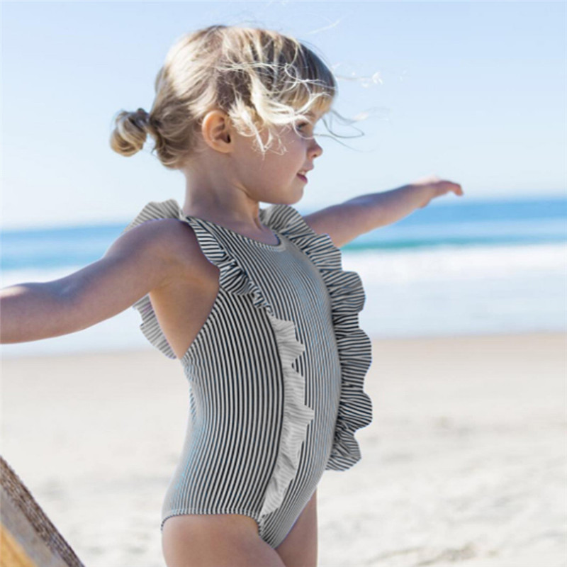 Telotuny Baby Striped bikini swimmer beach suit swimming Infant Kid Baby Girls Ruffles Swimsuit One Pieces beach Swimwear MAY 29Telotuny Baby Striped bikini swimmer beach suit swimming Infant Kid Baby Girls Ruffles Swimsuit One Pieces beach Swimwear MAY 29