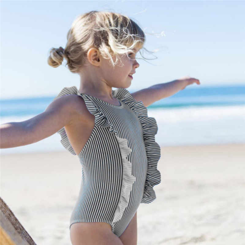 64ad2c3a24819 Detail Feedback Questions about Telotuny Baby Striped bikini swimmer beach  suit swimming Infant Kid Baby Girls Ruffles Swimsuit One Pieces beach  Swimwear ...