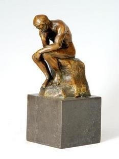 sculpture  thinker free shiping