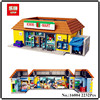 IN STOCK Lepin 16004 2232Pcs The Simpsons Bart Homer The Kwik E Mart Action Figures Model