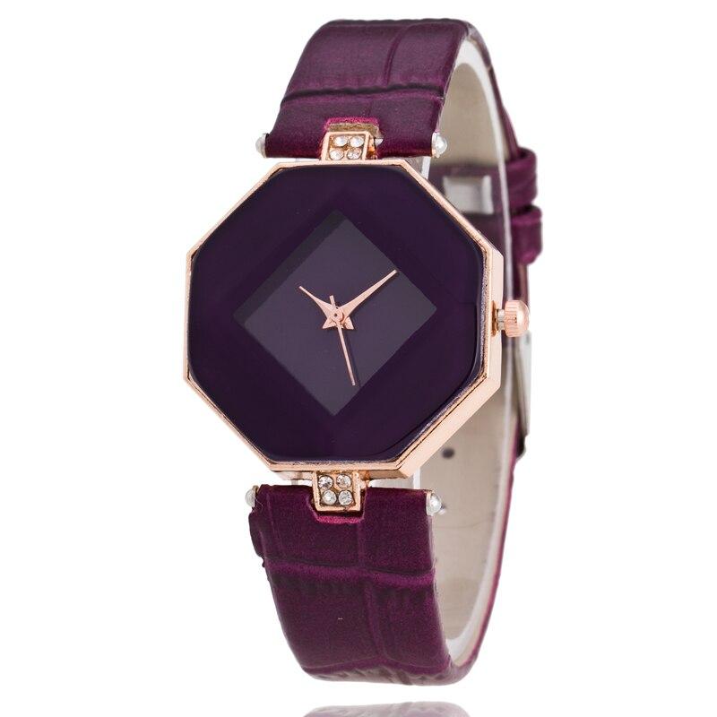 Sieviešu modes ikdienas rokas pulkstenis, sieviešu pulksteņi ar īpašu rhinestone dimanta formas zvanu pulksteņu pulkstenis, kleita pulkstenis 2735