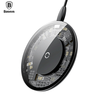 Baseus 10W Qi Wireless Charger Fast Wireless Charging For IPhone X 8 Flash Charging Pad For