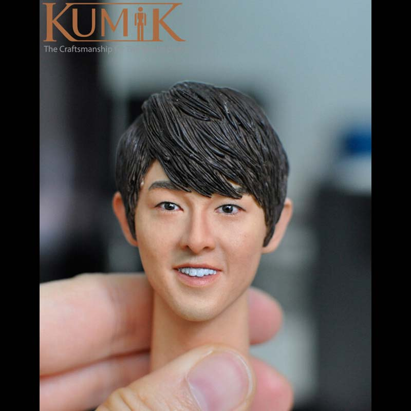 1/6 KUMIK Headplay Male Figure Head Model Man Boy Head Sculpt Ver for 12 Action Figure Accessory Collection Doll Toys KUMI15-18 popular 16 31 1 6 scale male head sculpt model toys for 12 male action figure body accessory collections freeshipping