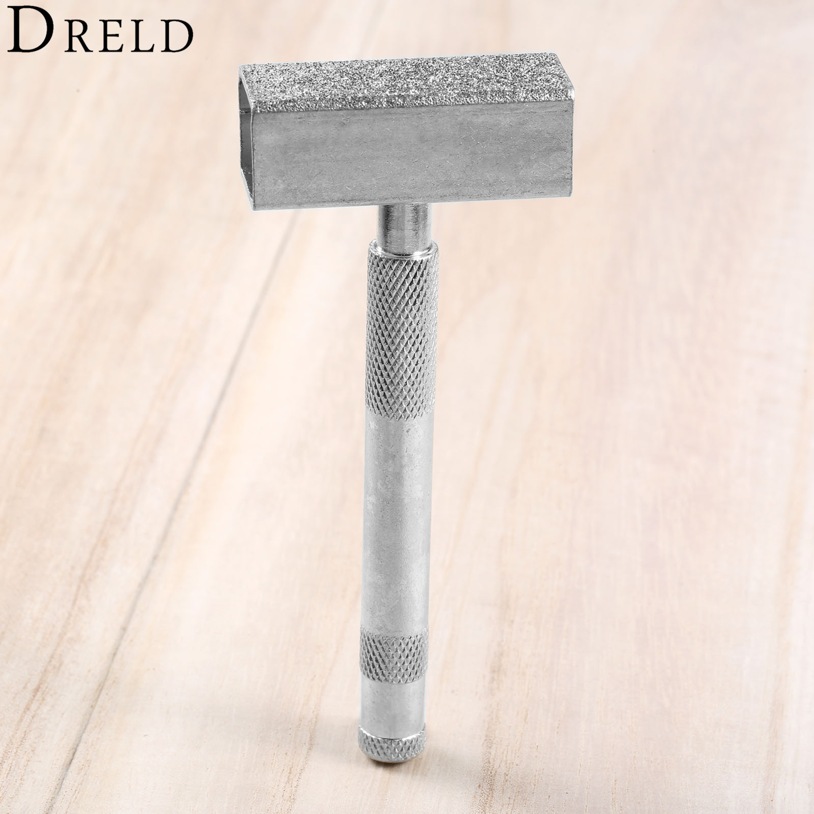 DRELD 1Pc Handheld Diamond Dressing Tool Grinding Wheel Disc Stone Dresser Bench Grinder Grinding Tool