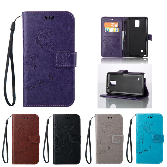 Flip Case for Samsung Galaxy Note 4 Note4 SM-N910F SM-N910P SM-N910C SM-N910G N910u N910W8 N910F N910C N910G Leather Phone Cover