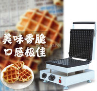 Commercial 110v 220v Electric Non Stick Thick Liege Belgian Waffle Maker Machine Belgium Waffle Maker