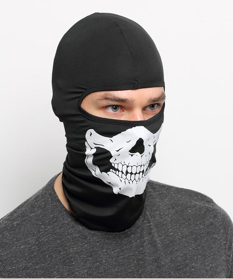 Новый череп маска скелет призрак балаклава тактический армия армия airsoft мотоцикл велосипед дышащий солнцезащитная полнолицевая маска