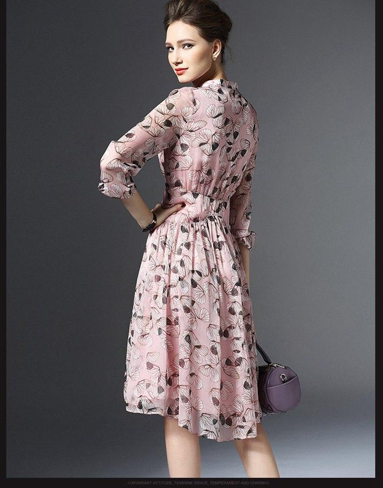 Women's Clothing Considerate 2018 Fashion Women Dresses Long Sleeve Floral Printed Autumn Dress Female Boho Style Round Neck Long Maxi Dress Robe Femme