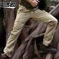 Бесплатная Доставка Новая мода Мужчина мужские комбинезоны повседневная Военная форма брюки хлопчатобумажные мешки брюки инструменты продвижение
