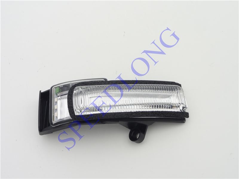 1 PC RH wing mirror turn signal light lamp passenger side for FORD F150 LOWER CONFIGURATION 2015-2016 1 pc lh door mirror lamp light turn signals driver side for ford f150 lower configuration