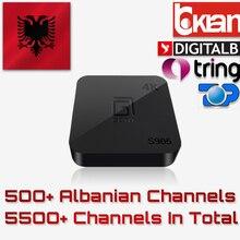 Albanais IPTV Boîte GOTiT S905 1 GB 8 GB Android 5.1 4 K H.265 Amlogic S905X Quad-core 500 + albanais Canaux
