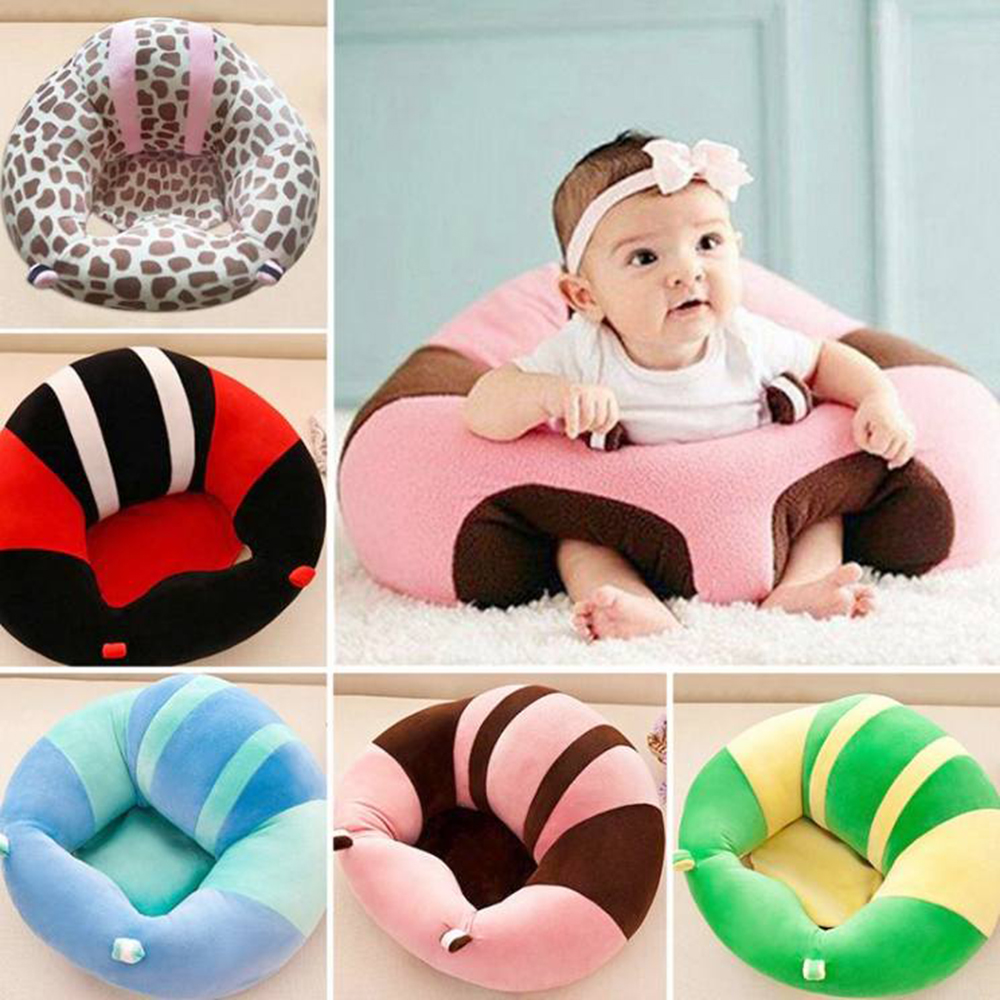 Baby Seats Sofa Support Seat Pad Baby Plush Support Chair Learning To Sit Soft Plush Toys Soft Travel Car Seat Cushion