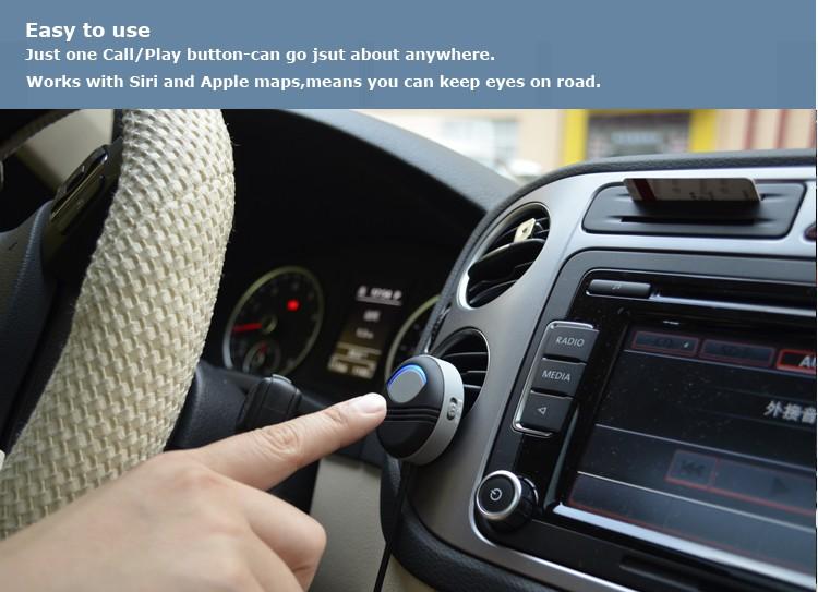 Poziom hałasu anulowanie zestaw samochodowy bluetooth AUX zbudowany w izolowane IC 6