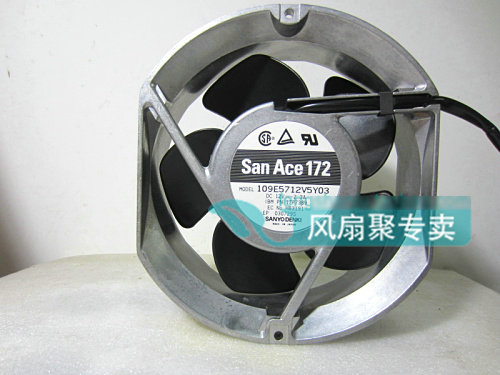 Original SANYO 109E5712V5Y03 17cm 12V 2.3A aluminum frame large air volume cooling fan free shipping new original sanyo 9bam24p2g17 dc24v 0 9a 97 33mm 9cm large wind blower cooling fan