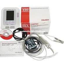 Veterinary Digital Blood Pressure Monitor + SPO2 Probe, Vet BP Monitor with Oxygen Probe, Contec 08A, Free shipping
