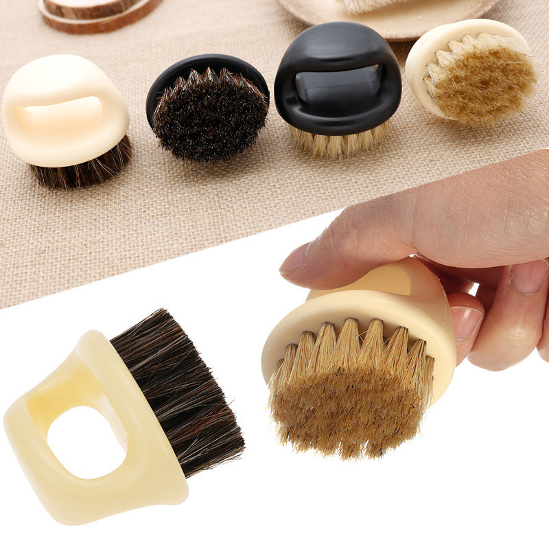 Image 5 - New Men's special Wild boar bristle beard brush Comb set Plastic beard comb beard care set Comb Beard tool brushes Hot Selling-in Combs from Beauty & Health