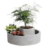 Silicone Mold Cement Flowerpot Molds Home Decoration Concrete Molds Planter Pallet Silicone Mould Large Capacity Soft Texture