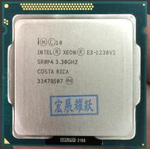 Процессор Intel Xeon E3-1230 v2 E3 1230 v2 PC Настольный компьютер Процессор четырехъядерный процессор LGA1155 Desktop Процессор