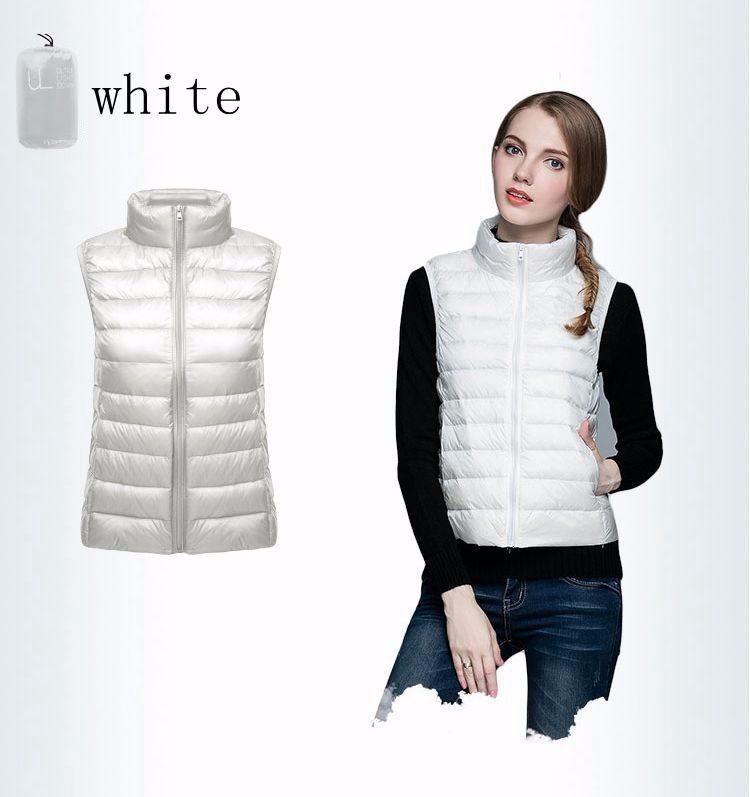 NewBang Brand Women Sleeveless Women's Ultra Light Down Vests Slim Jacket Girl Gilet Plus Lightweight Windproof Warm Waistcoat