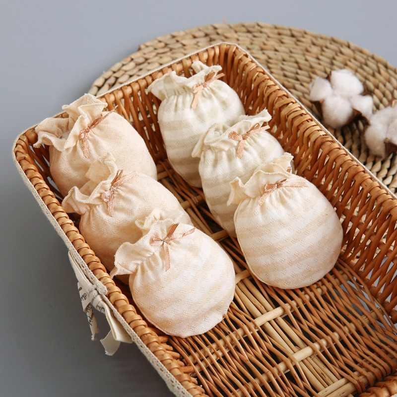 Handschoenen/Детские зимние хлопковые жаккардовые перчатки для новорожденных девочек и мальчиков, перчатки с противозахватом, mitaine bebe