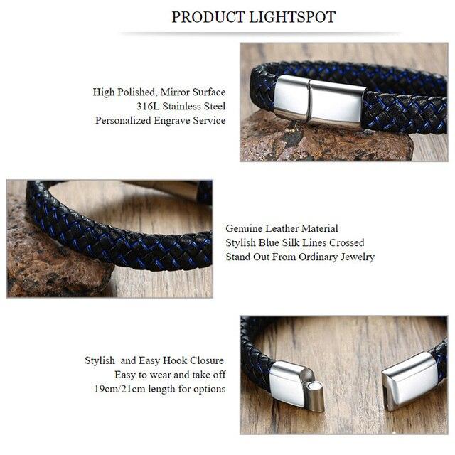 Engravable Men Bracelet Jewelry 2