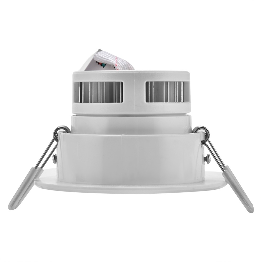 Белый Встраиваемые Цвет Изменение RGB Панель лампы 5 Вт светодиодный потолочный светильник с дистанционного Ресторан праздничные украшения ...