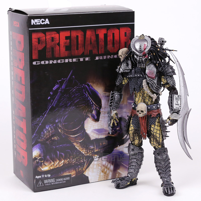 AVP Aliens vs Predator Series Concrete Jungle PVC Action Figure Collectible Model Toy 22cm predator