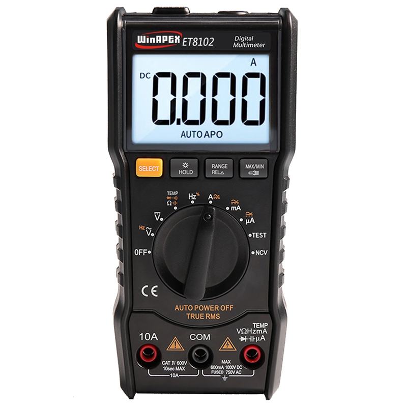 GTBL WINAPEX Digital Multimeter Tester 3 5/6 1000V 10A AC DC 6000 True RMS Digital Voltmeter