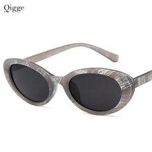 9659ca115c9 Clout goggle Kurt Cobain glasses oval sunglasses ladies trendy 2018 Vintage  retro sunglasses Women s white black