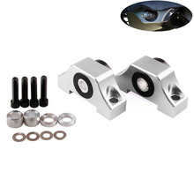 Engine Motor Torque Mounting Kit Universal Aluminum Alloy Bracket Car Replacement For Honda 92-00 D15 D16 B16 B18 B20