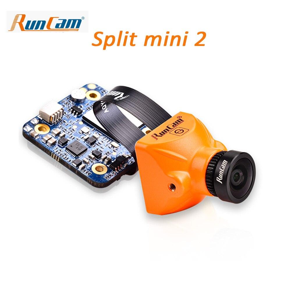 RunCam Сплит Мини 2 s/Сплит 2 S FPV WiFi камера 2 MP1080P/60fps HD Запись плюс WDR NTSC/PAL переключаемый для гоночного дрона