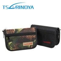 Tsurinoya 다기능 낚시 숟가락 가방 18.5x12.5x5.2 cm 대용량 낚시 액세서리 보관 가방 후크 커버