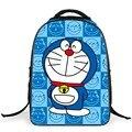 Alta Calidad Encantadora Doraemon niños bolsas escuela 16 pulgadas mochila bandolera escuela primaria para Niñas