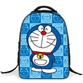 High Quality Lovely Doraemon children school bags 16 inch backpack primary school shoulder Bag for Boys Girls