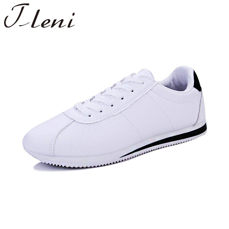 Tleni 2018 Popular Men Sneakers Sport shoes leather Trainers shoes for Male Flat Sneakers shoe Running shoes for men ZE-23Tleni 2018 Popular Men Sneakers Sport shoes leather Trainers shoes for Male Flat Sneakers shoe Running shoes for men ZE-23