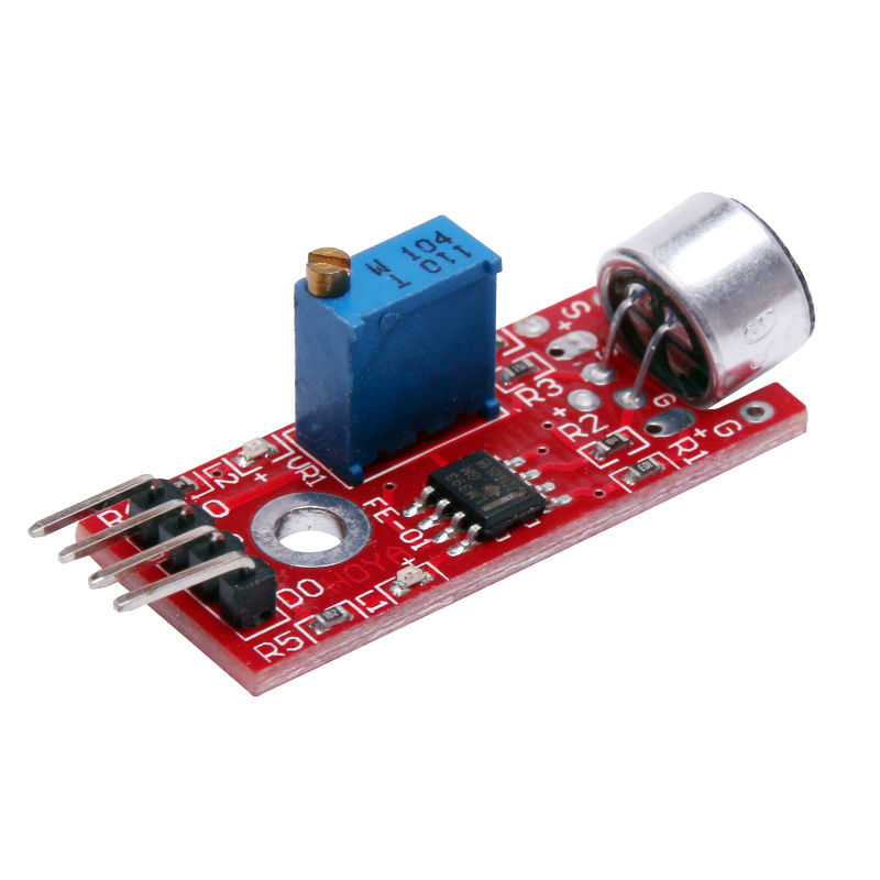 Microphone Sensor AVR PIC High Sensitivity Sound Detection Module For Arduino ES