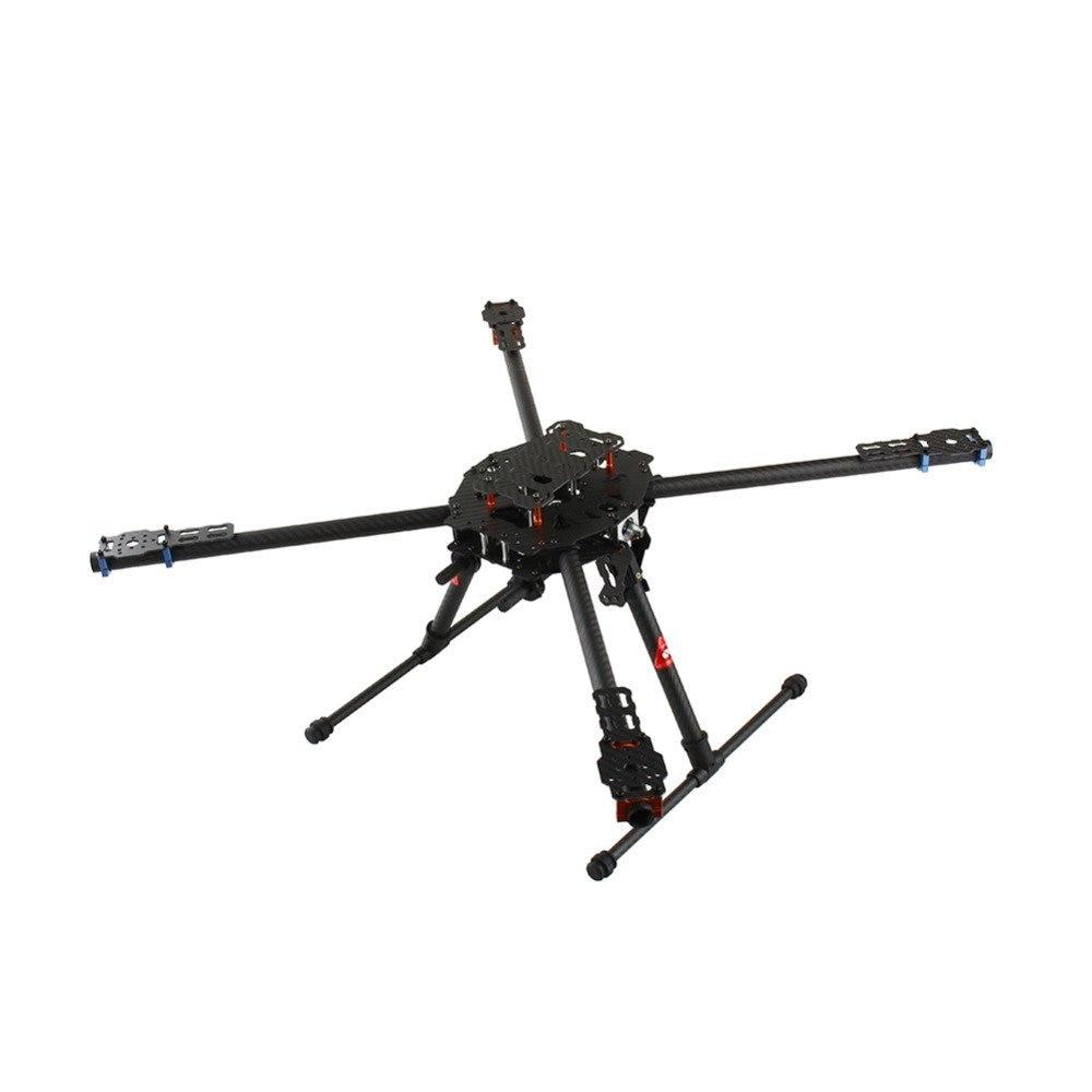 Tarot Iron Man 650 3K Carbon Fiber 4 Axis Aircraft Fully Foldable Quadcopter Frame Kit TL65B01 f05548 iron man 650 carbon fiber 4 axle aircraft fully folding fpv quadcopter frame kit tl65b01 fs
