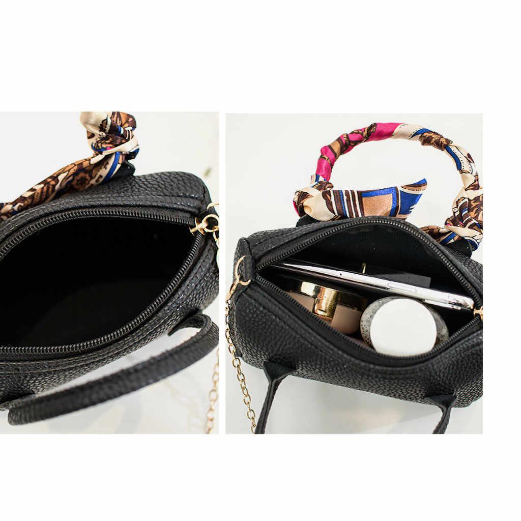 Women's Bags Simple Ribbon Bucket Small Square Single Shoulder Messenger bolsa feminina sac a main femme de marque soldes