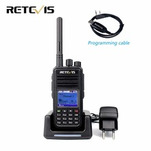 Professional DMR Radio Digital Walkie Talkie Retevis RT3 VHF 136-174MHz 5W 1000CH Priority Scan DTMF Encrypted Two Way Radio Set