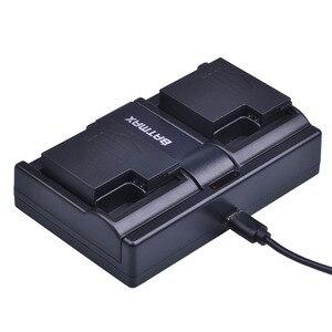 Image 4 - 2 adet 1500 mAh DS S50 DSS50 S50 Pil Accu + USB çifte şarj makinesi AEE DS S50 S50 AEE D33 S50 S51 s60 S71 S70 Kameralar Pil