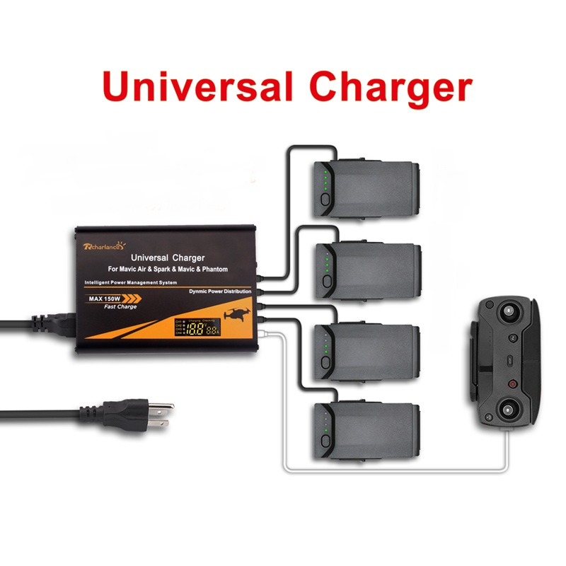 5 in1 Multi Battery Charging Hub Intelligent Battery Simultaneously Charging for RC font b DJI b