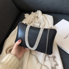 Brand Women Evening Bag 2019 Party Banquet Glitter Bag For Women Girls Wedding Clutches Handbag Chain Shoulder Bag Bolsas Mujer women evening bag gold chain stone high quality day clutches wedding purse party banquet girls messenger bag fashion multicolor