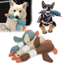 Dog Toys for Aggressive Chewers Indestructible Large Breed and Squeaky Goose Small Medium Dogs