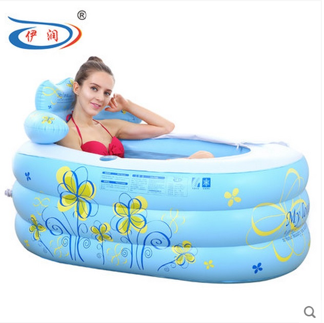 Size 130*75*70cm,With Hand Pump,Thickening Inflatable Bathtub ...