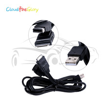 CloudFireGlory For Pioneer CD-IU201S to IPod IPhone 4 4S 5 5C 6 6S Plus IPAD Mini Set 8-PIN to 30-PIN AUX Adapter Cable 180 degree rotation suction cup holder w silicone back clip for iphone 4 4s 5 ipad mini ipod