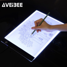 LED lighted Drawing Board A4 light Pad Drawing Tablet Tracing Pad Sketch Book Blank Canvas for Painting Watercolor Acrylic Paint self study of watercolor drawing skill book for watercolor painting book