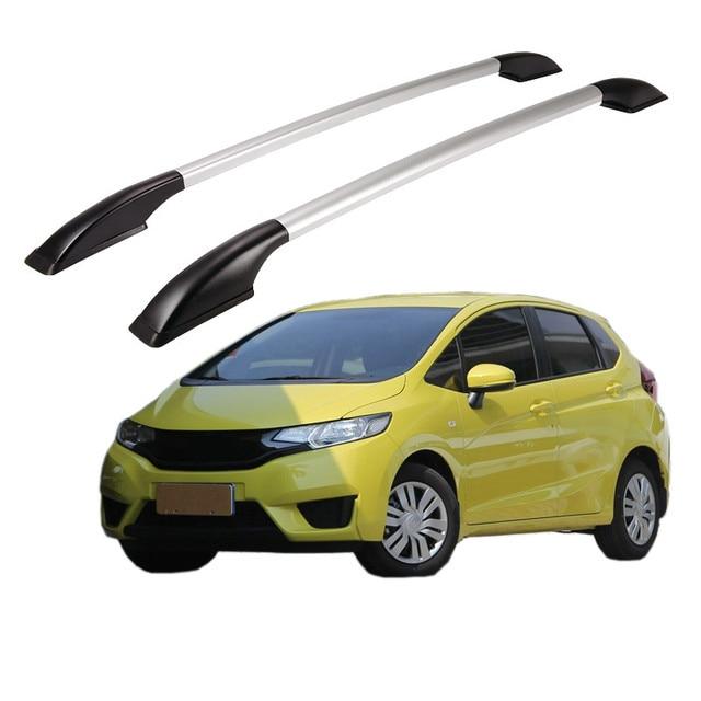 Honda Fit Roof Rack >> 1 4m Roof Rack Rails Bar Luggage Carrier Cross Top Boxes Aluminum
