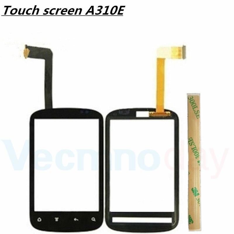 100% Test Noir Pour HTC Explorer A310E Avant Écran Tactile Digitizer Panneau Verre Remplacement Du Capteur