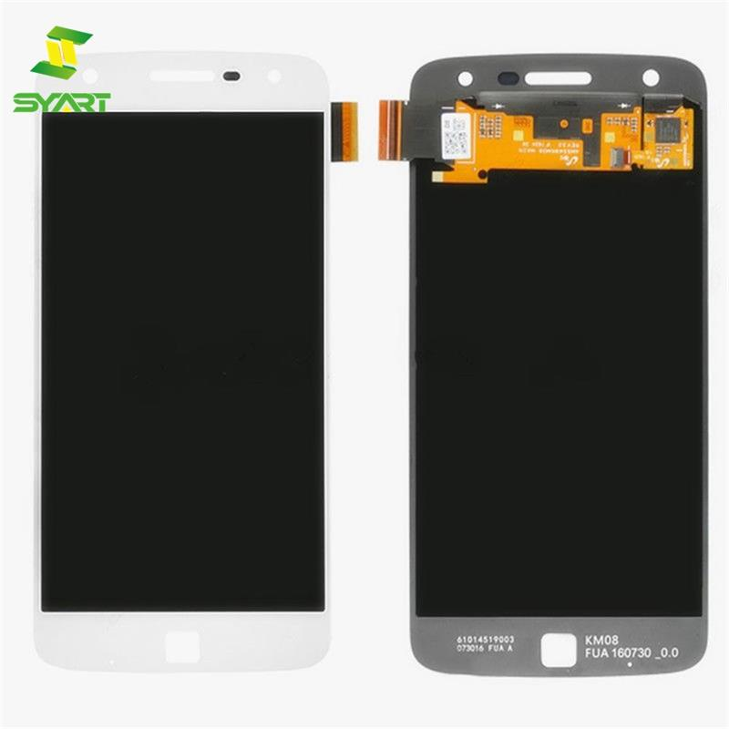 For Motorola Z Play LCD Display With Touch Screen Digitizer Assembly 100% Tested + Free Tools For Moto ZPlay <font><b>XT1635</b></font> LCDs Screen image